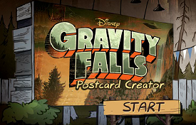 GRAVITY FALLS POSTCARD CREATOR