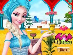 Elsa Ice Bucket Makeover